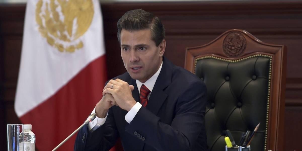 Instruye Peña Nieto a activar protocolos por tormenta