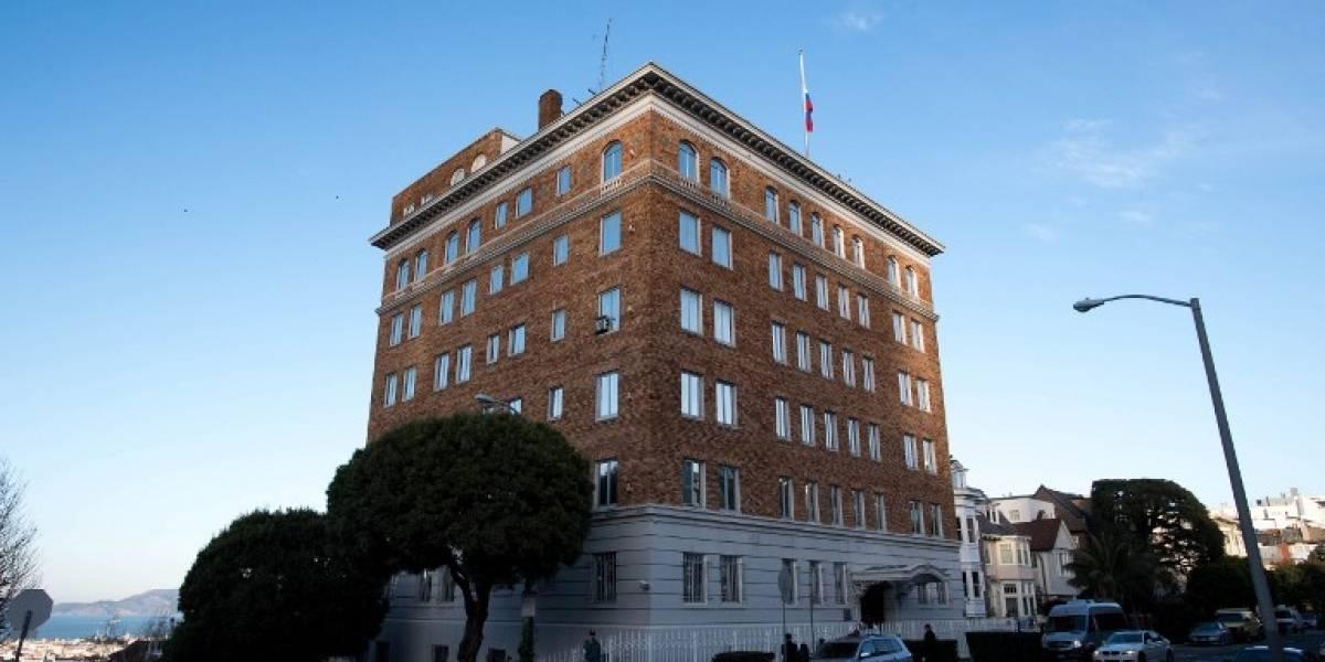 Estados Unidos ordena el cierre del consulado ruso en San Francisco