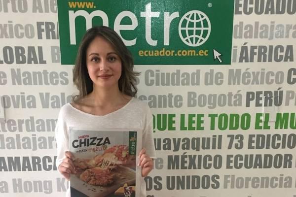 KFC presentó en Ecuador su nueva Chizza