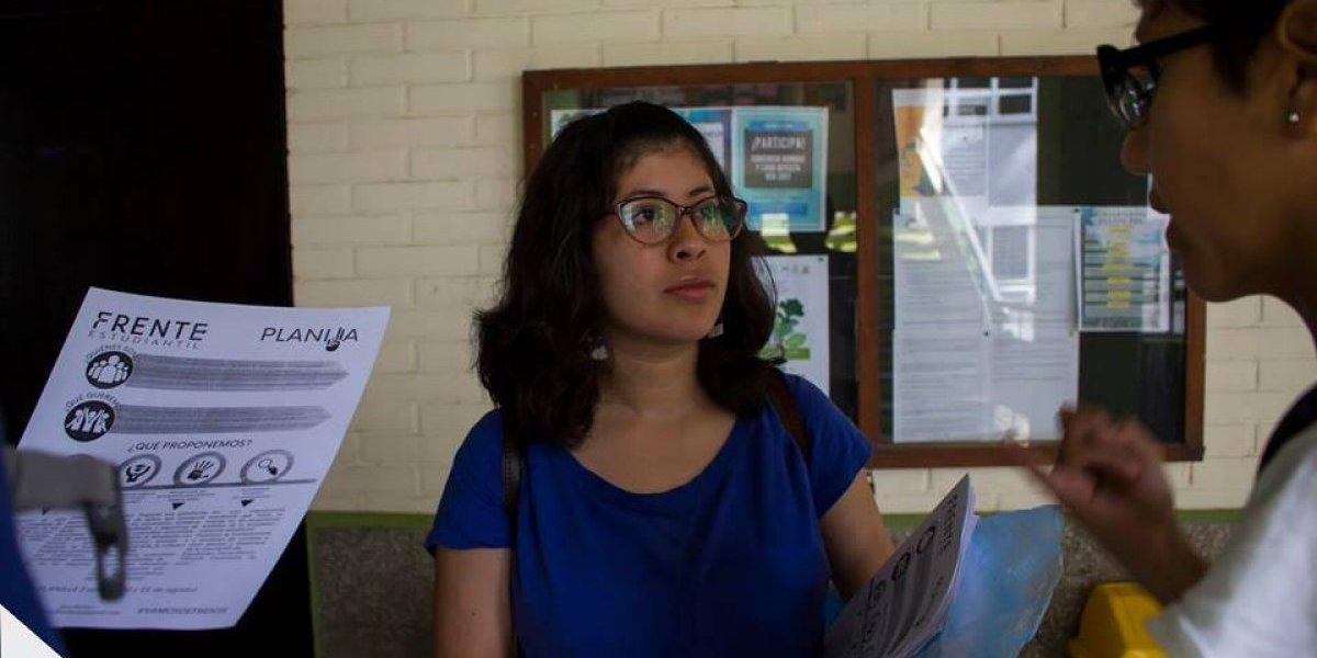 Frente Estudiantil gana elecciones de la AEU