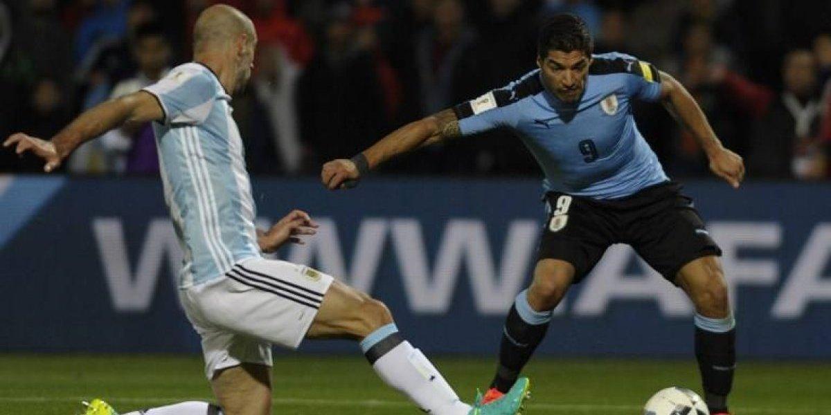 Suárez se recupera y jugaría con Uruguay ante Argentina