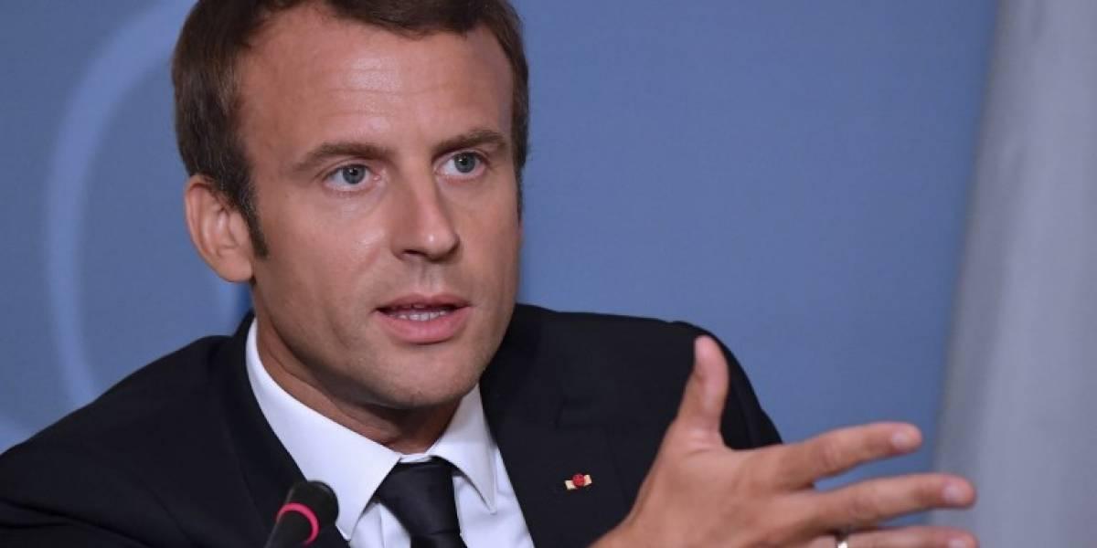 Macron presenta su reforma laboral, el primer gran desafío de su mandato