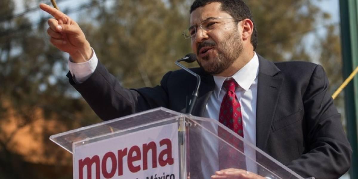 Martí Batres es presidente de la Mesa Directiva en el Senado