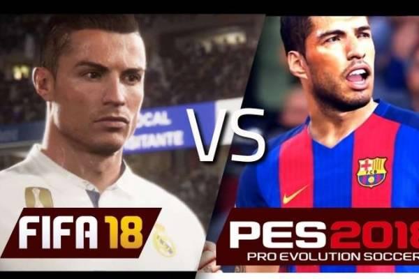 Detalles del nuevo FIFA y del Pro Evolution Soccer 2018 se revelan