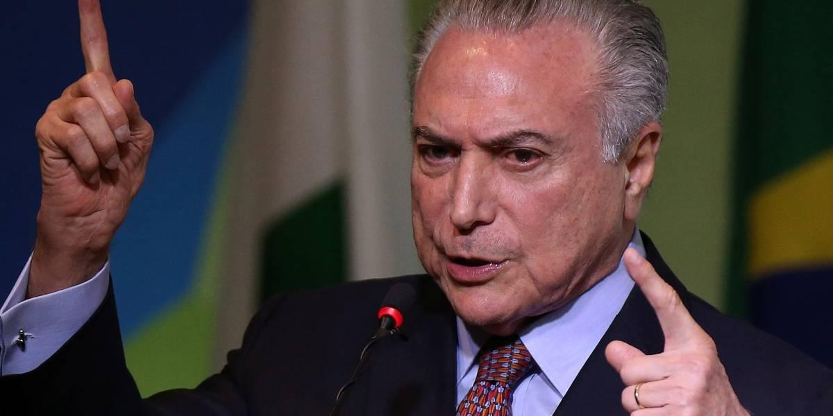 Após quebra de sigilo, Planalto diz que Temer entregará dados bancários