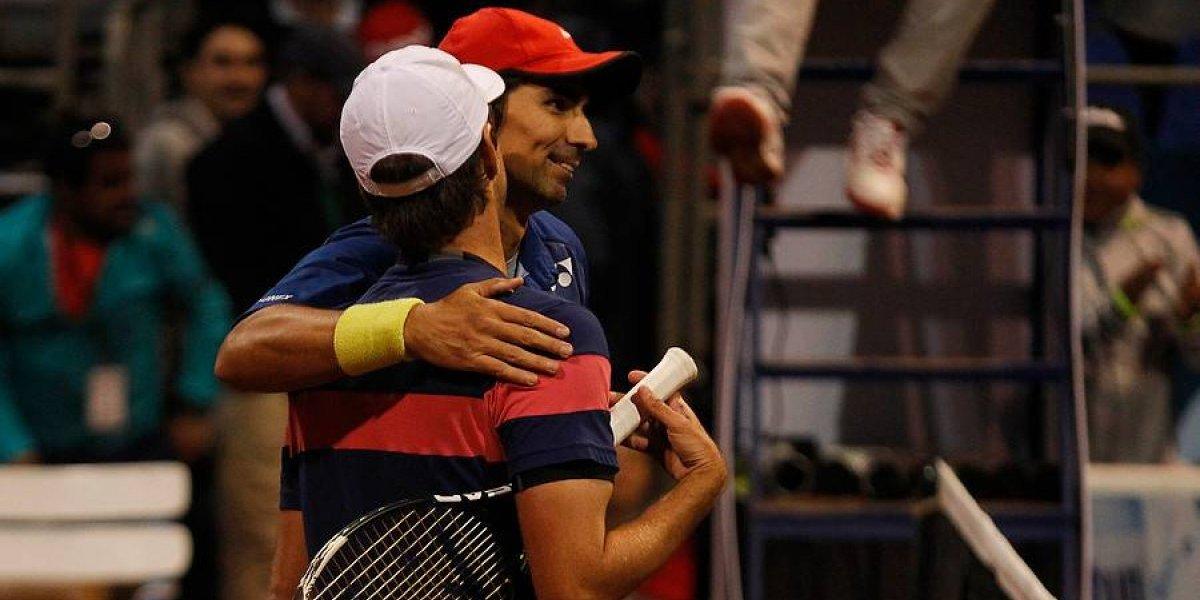 Julio Peralta tuvo un triunfal estreno en el dobles del US Open