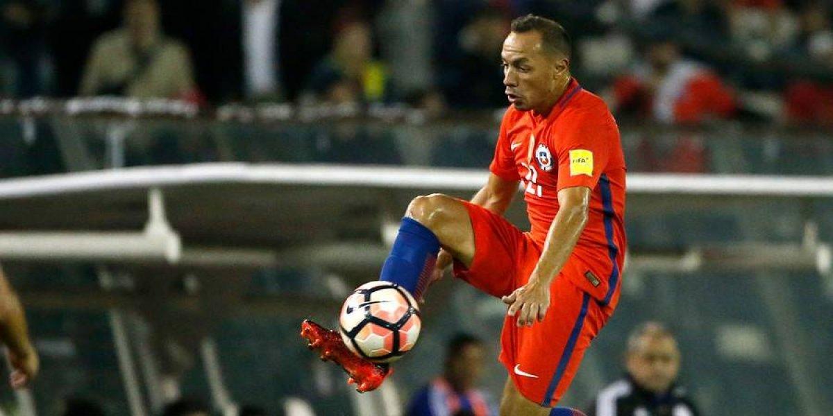"""Marcelo Díaz ve el vaso medio lleno: """"Afortunadamente los rivales jugaron para nosotros"""""""