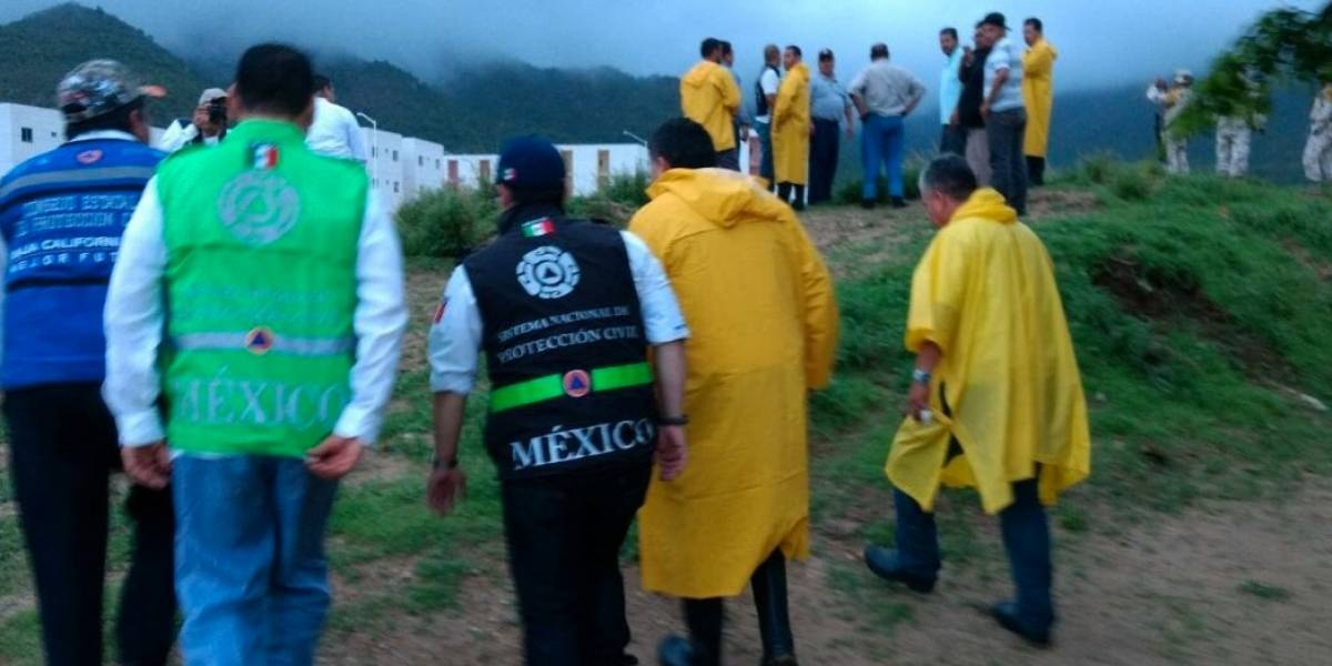 Activan Plan MX por paso de tormenta tropical