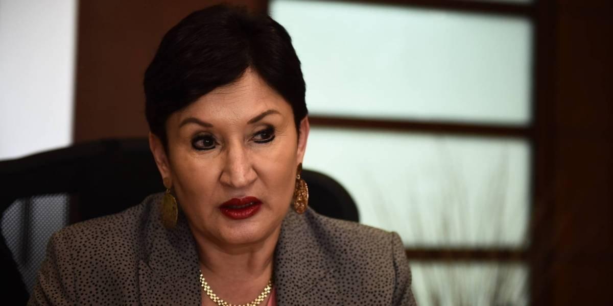 Thelma Aldana recibe cancelación de evento con Primera Dama y reunión con Presidente