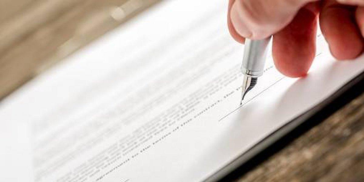 Firman acuerdos para el nuevo registro de la propiedad
