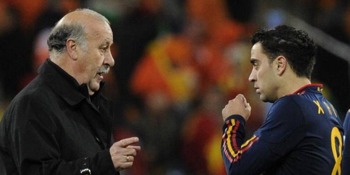 """Xavi dispara contra Del Bosque: """"Ante Chile en el Mundial me dejó en el banco, me falló"""""""
