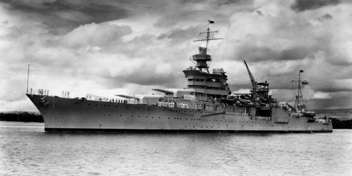 Encontraron el barco maldito: llevó la bomba atómica de Hiroshima, lo hundieron y su tripulación fue devorada por tiburones