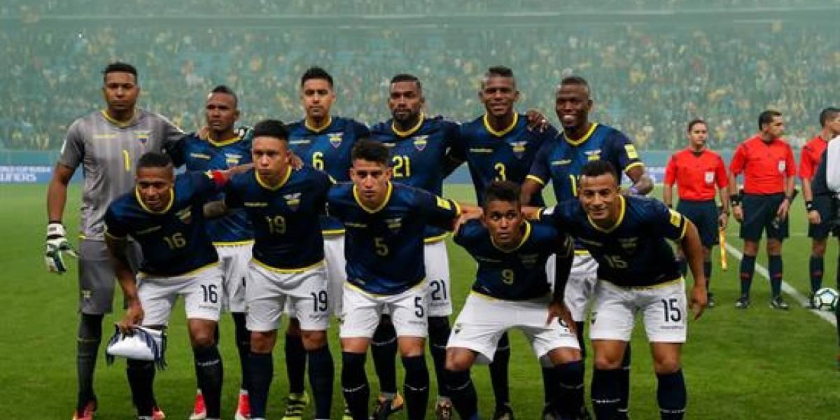 La Selección ya está en Ecuador