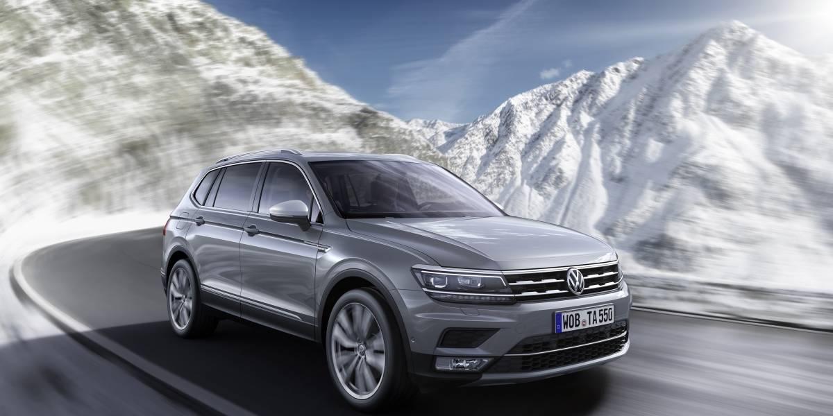 La segunda generación del Volkswagen Tiguan aterriza en Chile