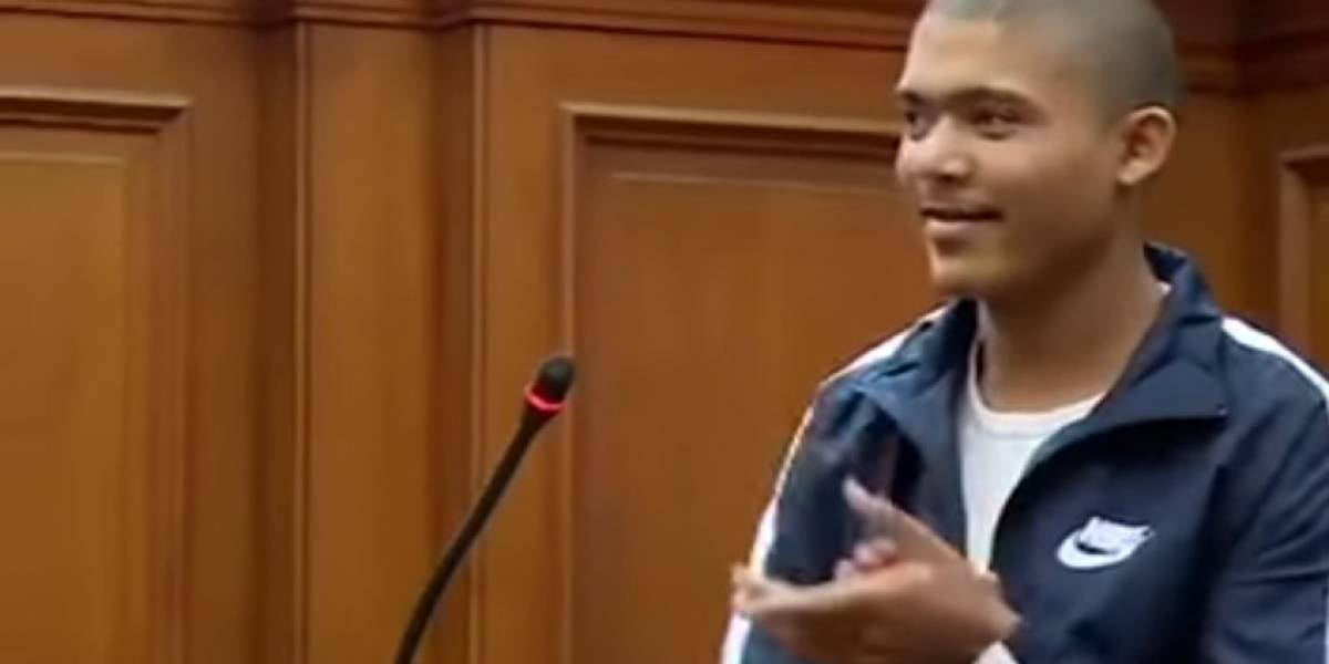Asesino se burló cuando lo condenaron a 71 años de prisión