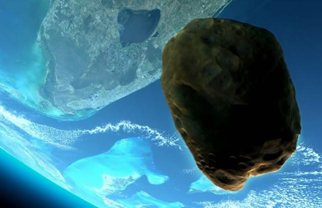 Un asteroide gigante pasará hoy muy cerca de la tierra