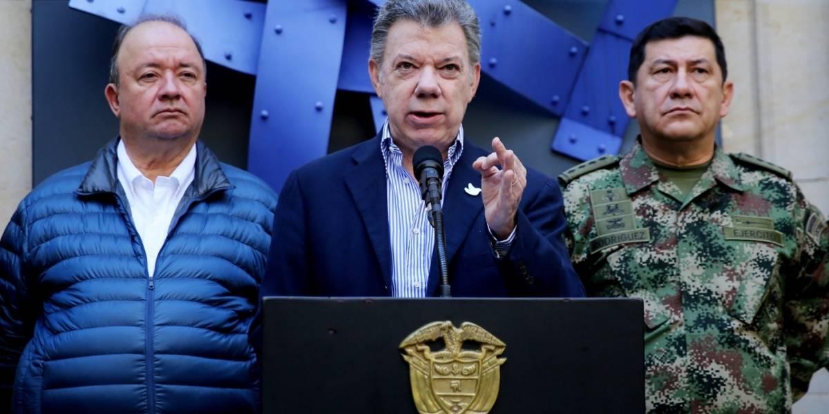 """Santos califica operación contra """"Gavilán"""" como mayor golpe al Clan del Golfo"""