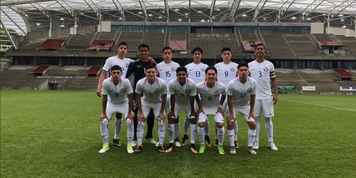 La Roja Sub 17 saca la cara por Chile en torneo preparatorio para el Mundial