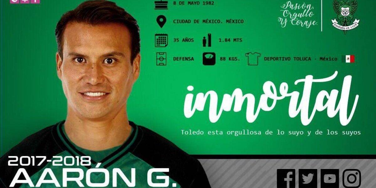 Aarón Galindo regresa a jugar a Europa