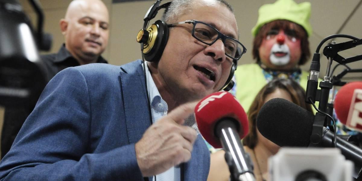 Jorge Glas sobre Lenín Moreno: Nunca tuve una relación muy cercana con él