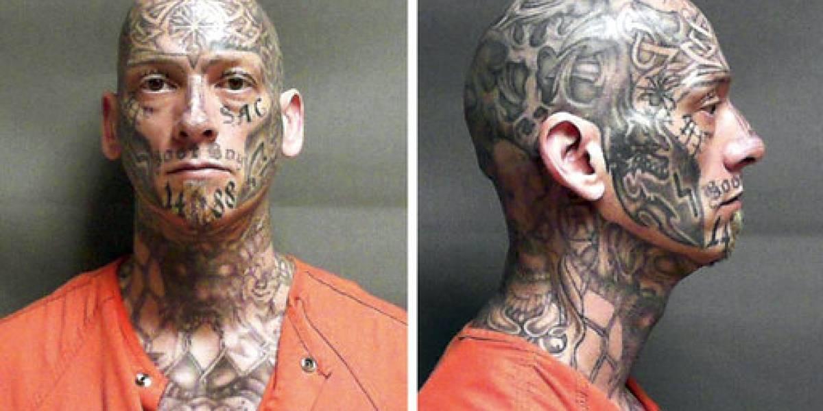Tatuajes delatan a prófugo en Pennsylvania