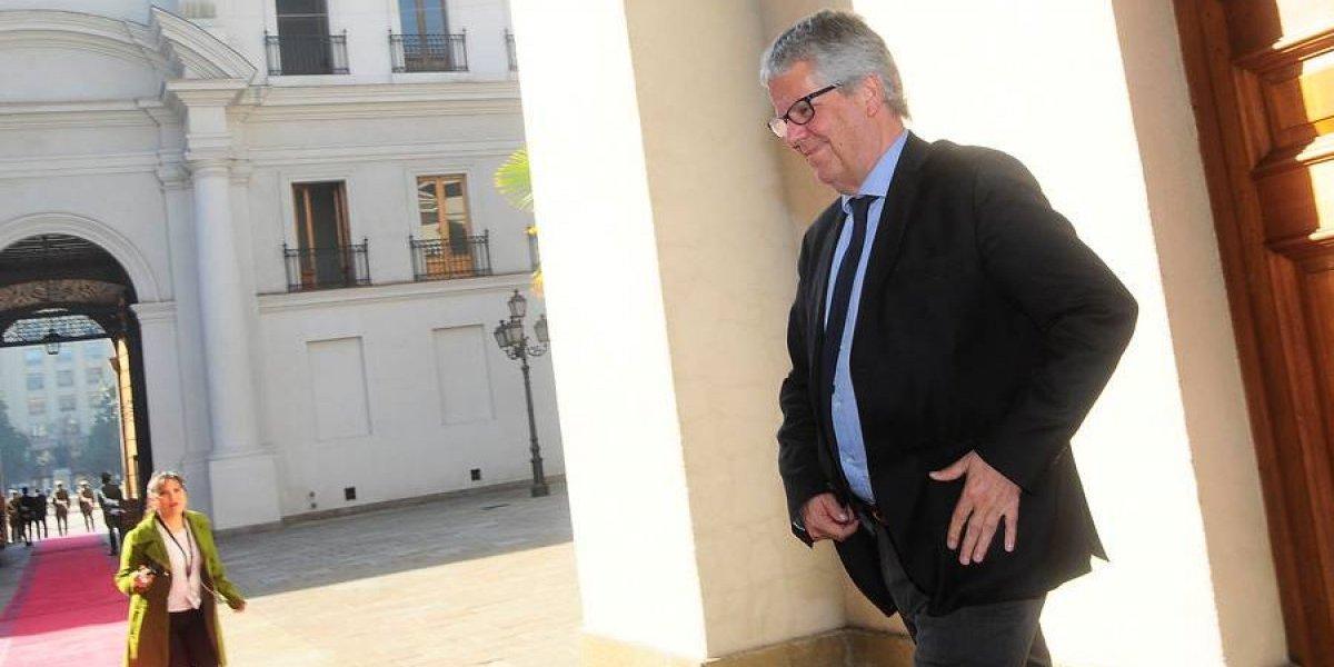 """Eyzaguirre no se altera por caída de la Bolsa tras elección:  """"Aquí no se jugaba grandes cosas"""""""