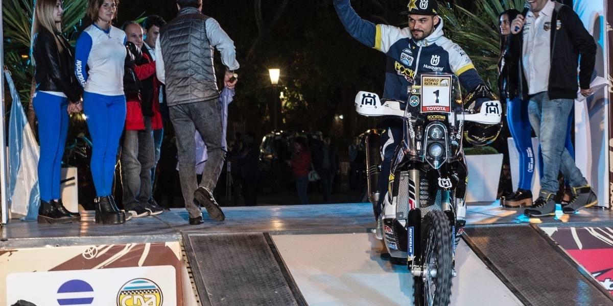 Quintanilla, líder del mundial FIM Cross Country a una fecha del final