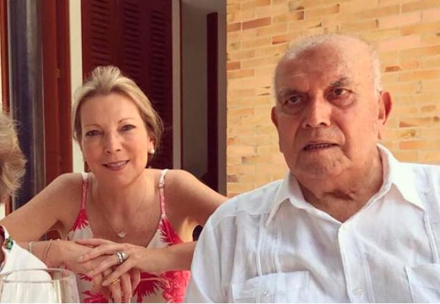 Falleció el padre de la Primera Dama colombiana