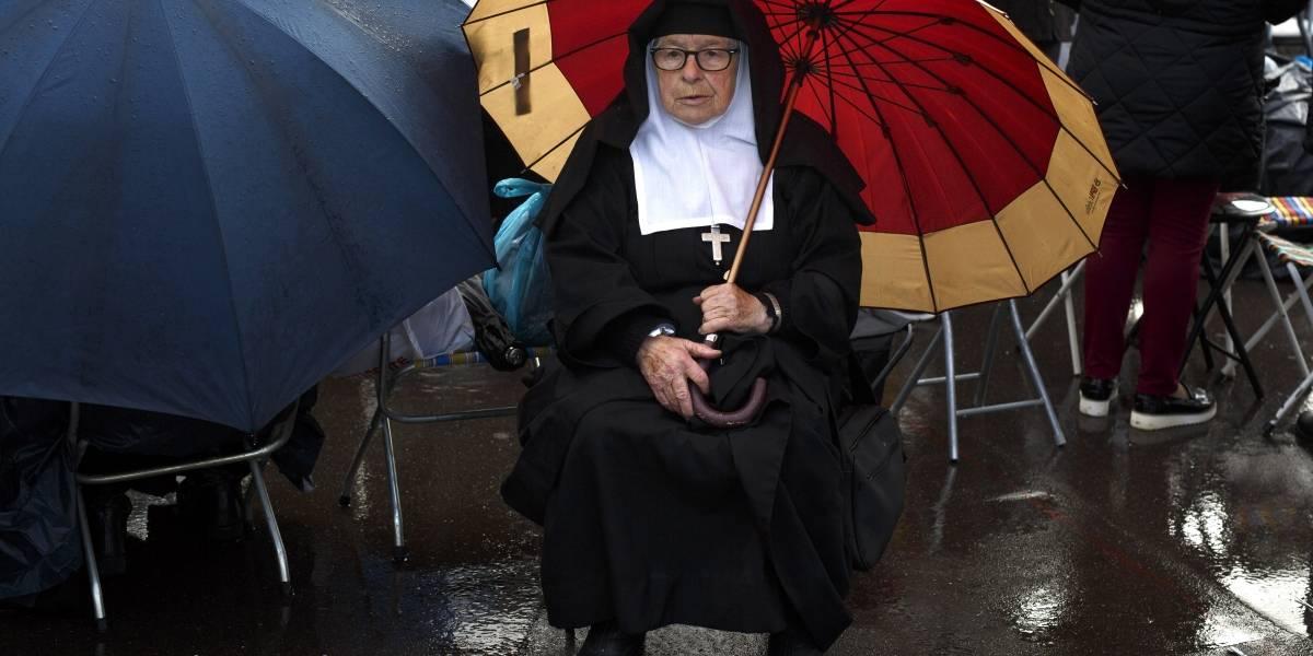 Pronostican lluvias en el país en los días de visita del papa Francisco