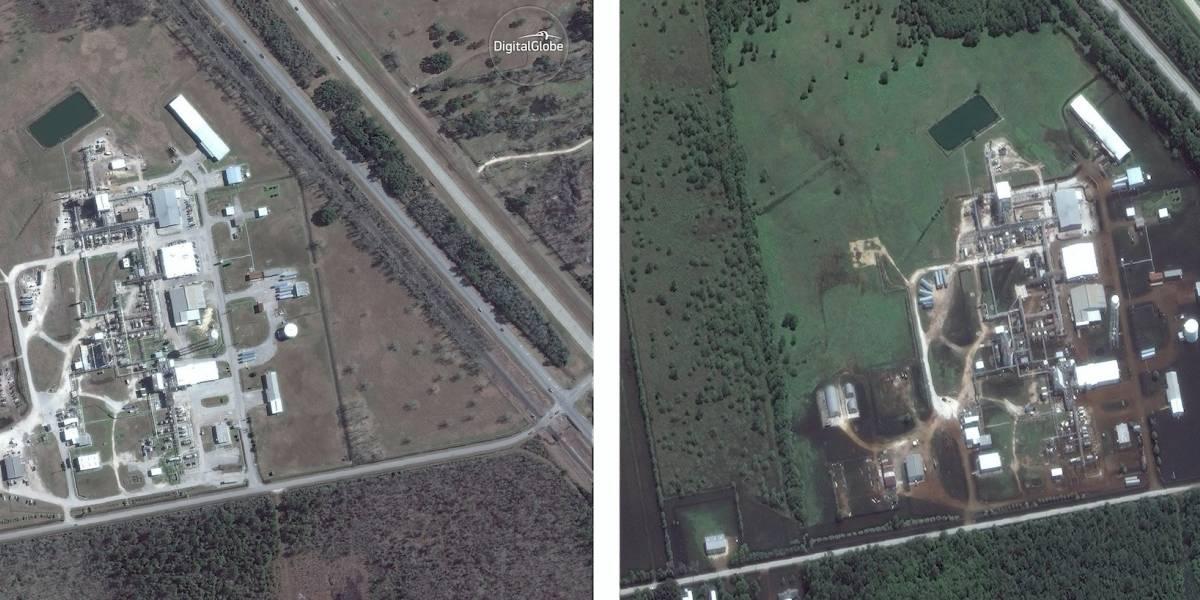 Texas: Humo y llamas salen de planta química tras Harvey