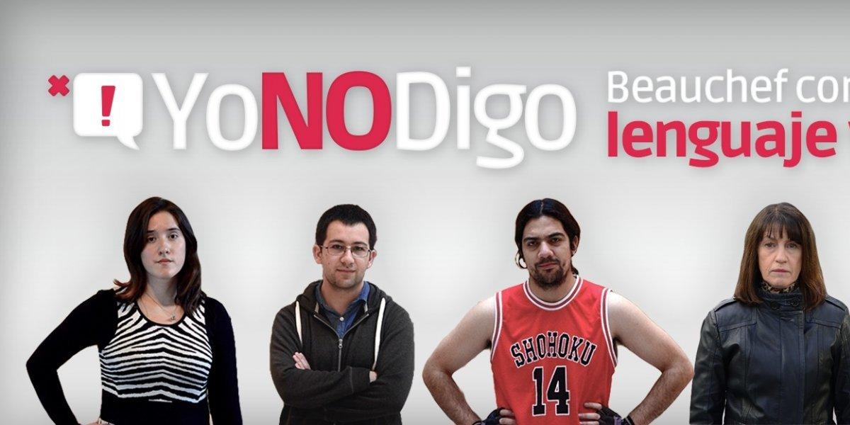 #YoNoDigo: estudiantes impulsan campaña para detener uso de dichos discriminadores