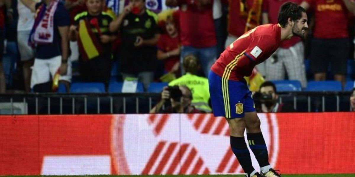 Minuto a minuto: España le gana a Italia con un doblete de Isco