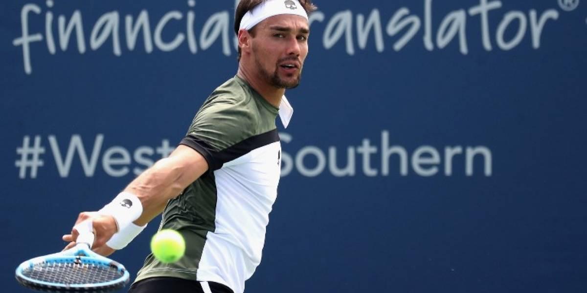 Escándalo en el US Open: Fognini fue suspendido tras insulto machista a jueza de silla