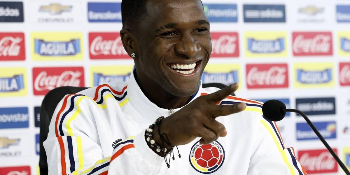 Cristian Zapata se muestra algo preocupado por jugar ante Brasil