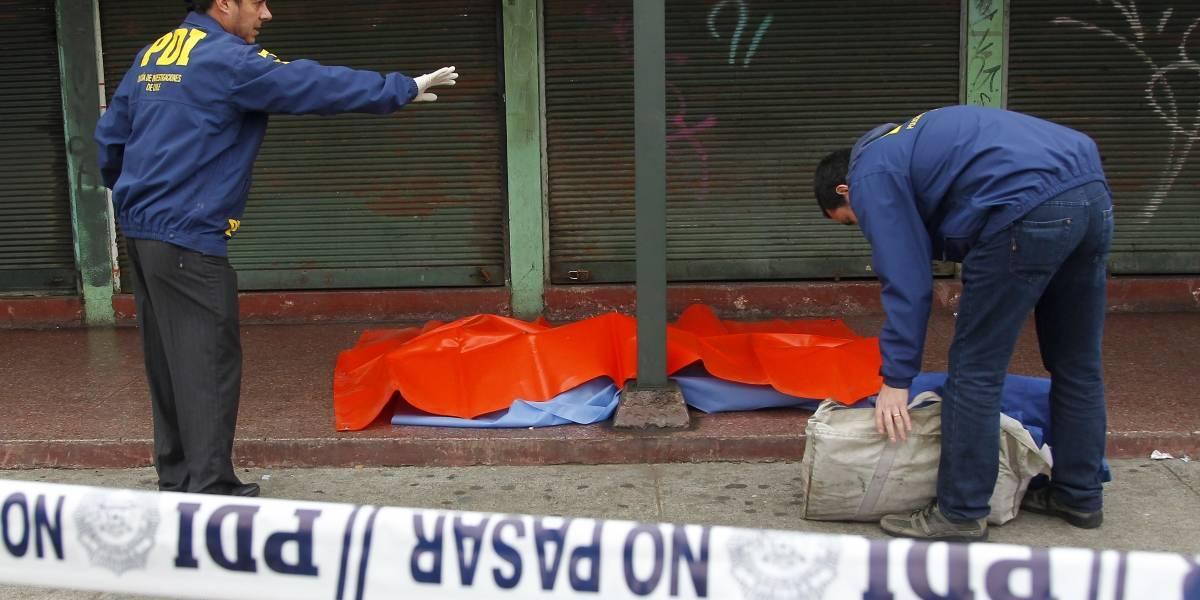 Acribillan a un hombre de nueve balazos en San Pedro de la Paz