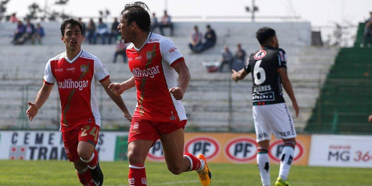 Curicó repitió la dosis ante Palestino y clasificó a cuartos de Copa Chile