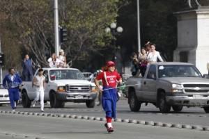 Caravana en celebración del Día Nacional del Circo Chileno