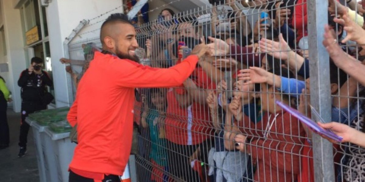 La Roja llegó a Calama para preparar el crucial partido ante Bolivia