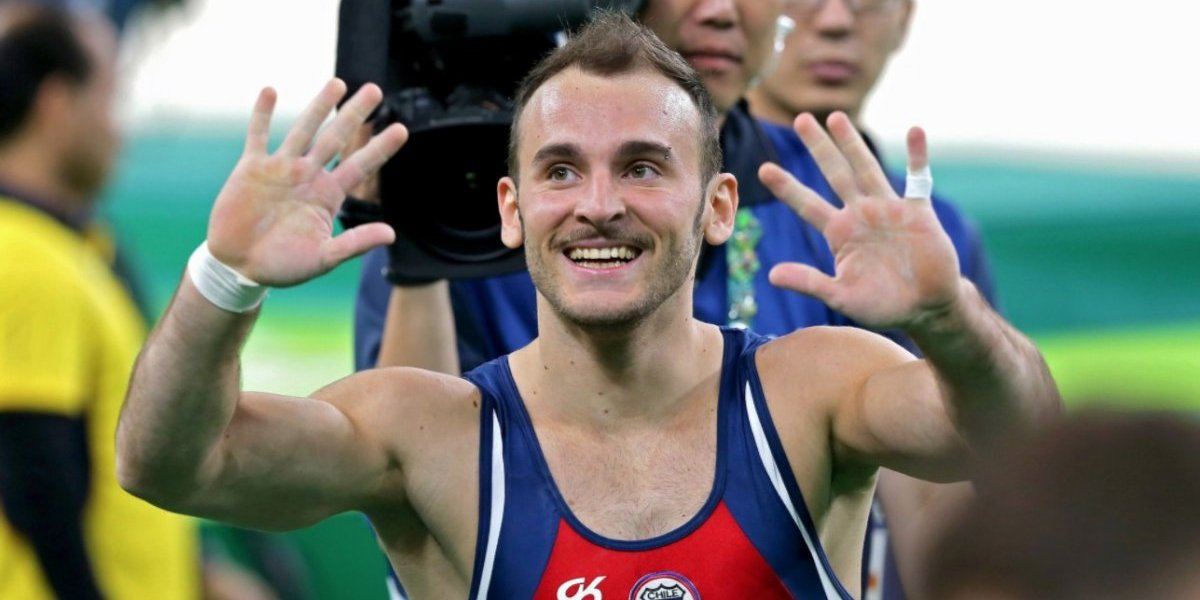 Tomás González se lució y ganó el oro en suelo en la World Cup de Varna en Bulgaria