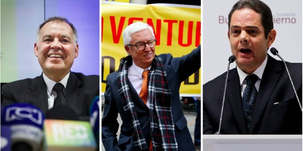 Candidatos a la Presidencia de Colombia le hacen el 'feo' a sus partidos