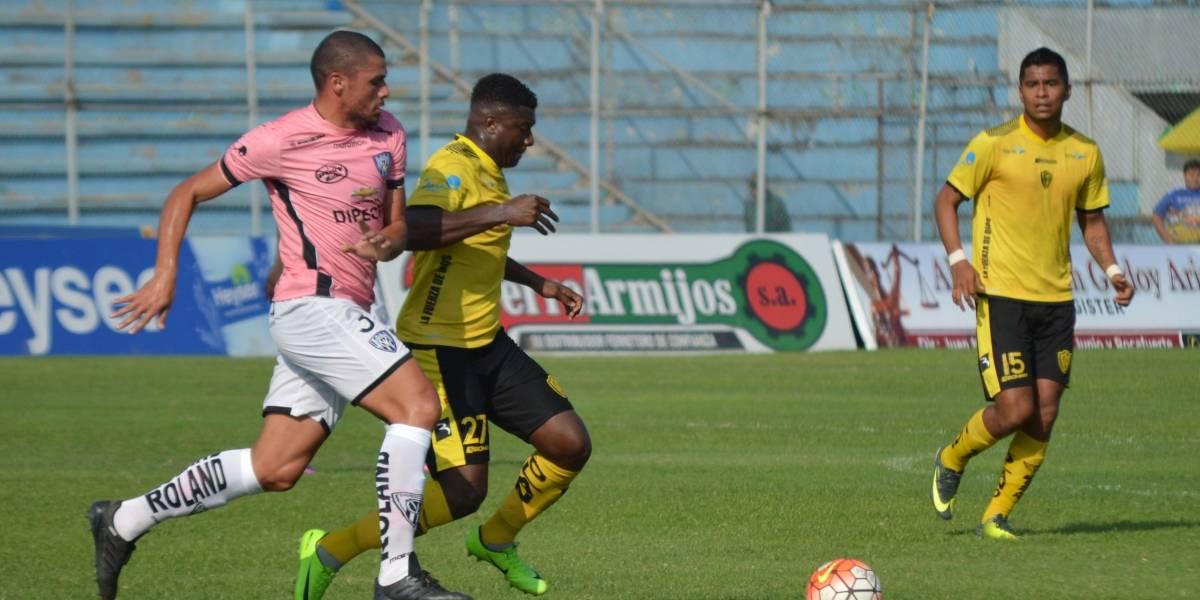 Fuerza Amarilla pierde 1-2 ante Independiente del Valle