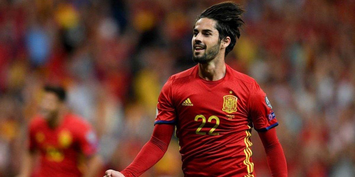 España goleó a Italia con un tremendo show de Isco