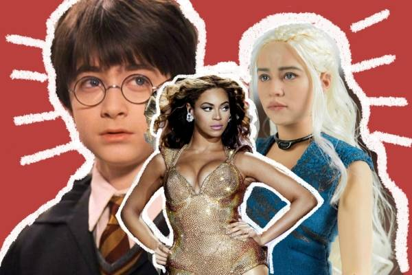 Clase de Beyoncé, Game of Thrones, Harry Potter