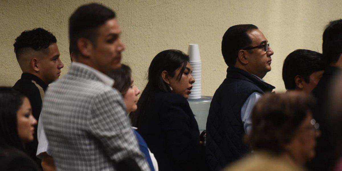 CICIG busca su reincorporación al juicio donde están señalados los familiares del Presidente