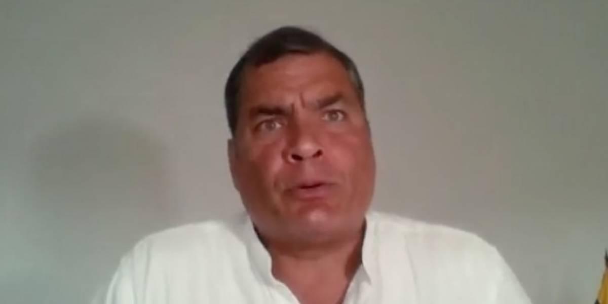 Correa: Lucha contra la corrupción es un instrumento de politiquería
