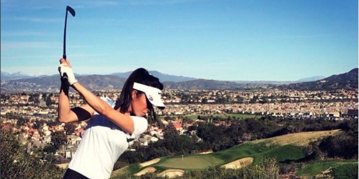 Tania Tare, la golfista neozelandesa que es sensación en Instagram