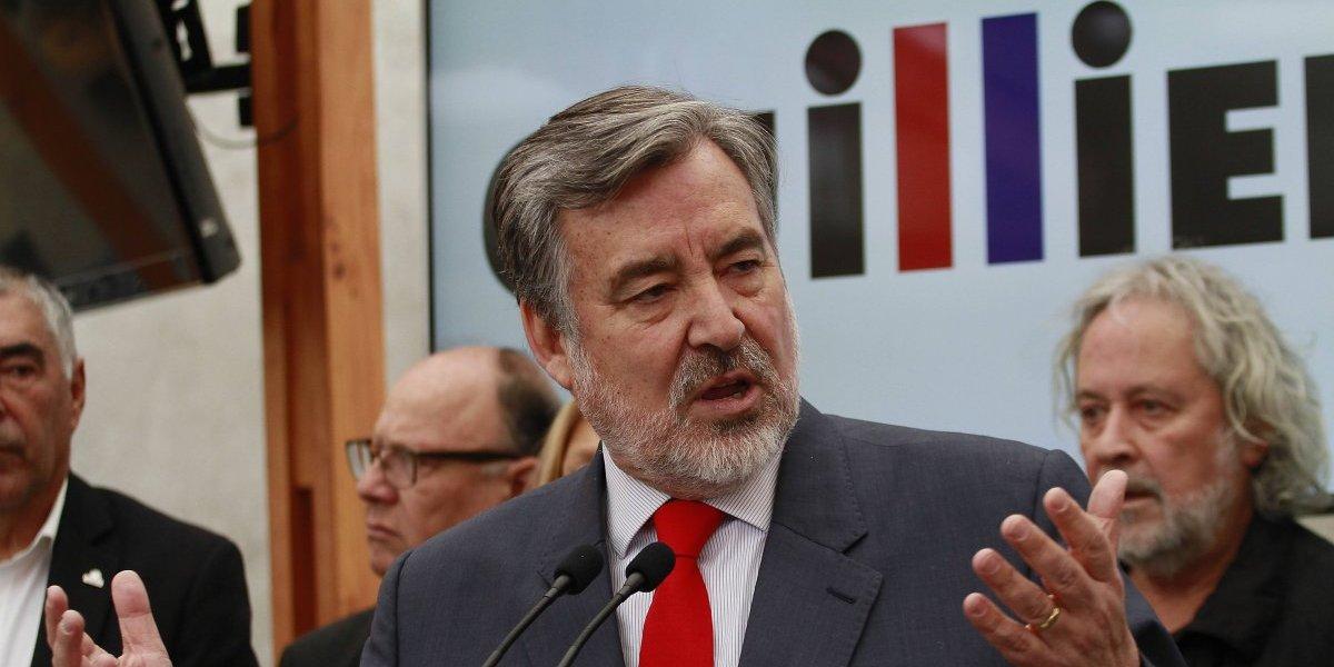 """Alejandro Guillier: """"la derecha fracasó en la lucha contra la delincuencia"""""""