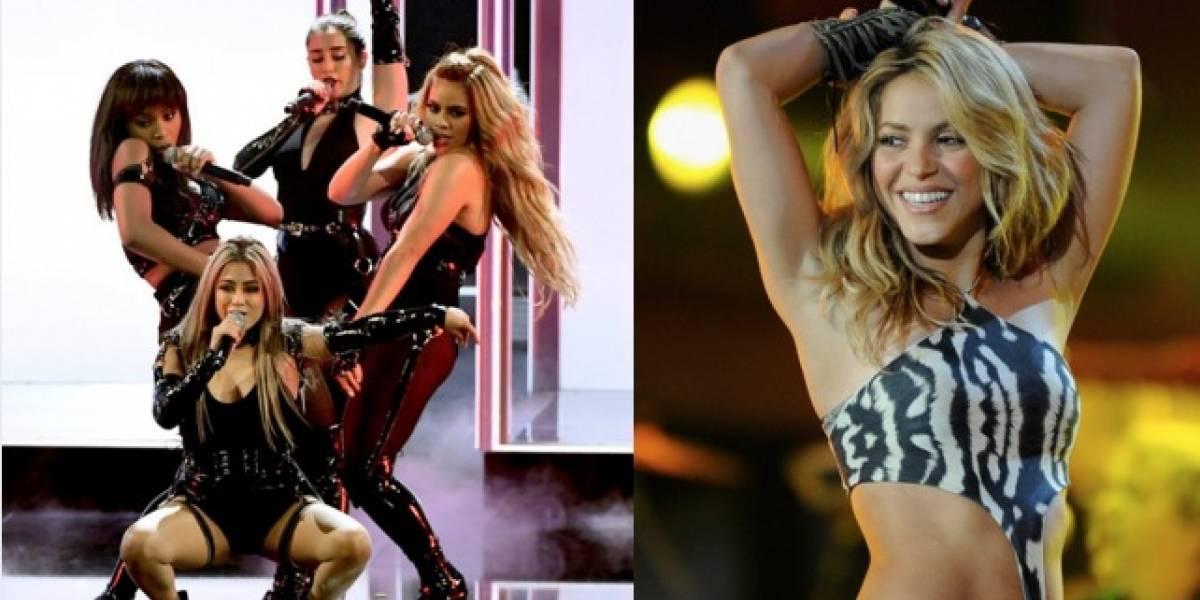 Integrante de Fifth Harmony es acusada de imitar a Shakira