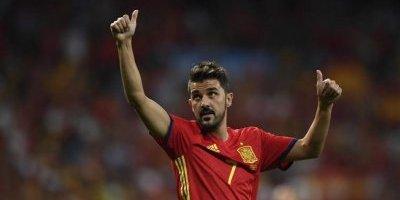 David Villa, duda con España