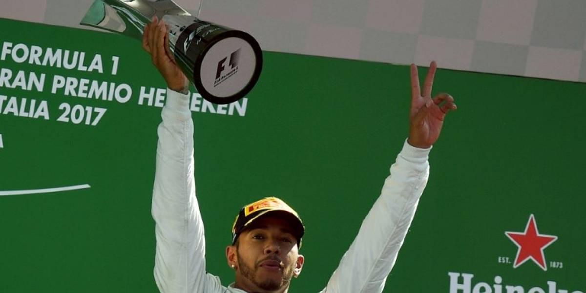 Lewis Hamilton gana el Gran Premio de Italia